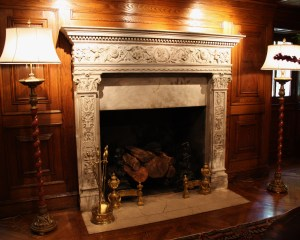Elegant Fireplace Embassy of Colombia Fireplace via photopin (license)