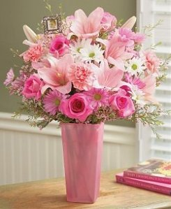 Pinks Roses Sentimental Surprise Mother's Day Flowers via photopin (license)