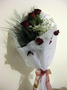 Deep Red Bouquet  via photopin (license)